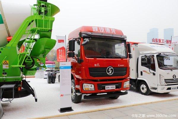 陕汽重卡 德龙L3000 加强版 200马力 4X2 6.75米厢式载货车(SX5180XXYLA5012)
