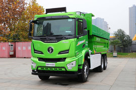 陜汽重卡 德龍H6000 6X4 5.6米單排純電動自卸車350.08kWh