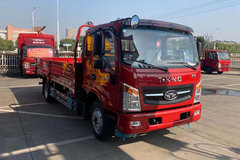 唐骏欧铃 T7系列 130马力 5.33米排半栏板载货车(ZB1120UPF5V)