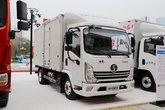 陕汽轻卡 德龙K3000 110马力 4.18米单排厢式轻卡(EH9A0410H5101)