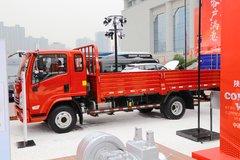 陕汽轻卡 德龙K3000 160马力 4.85米排半栏板轻卡(YTQ1091FJ381)