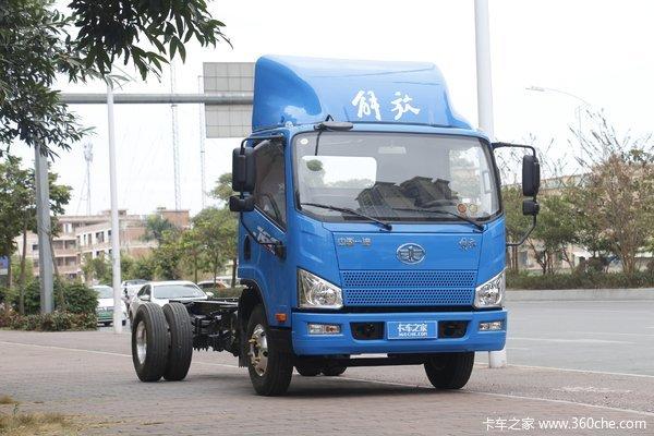 优惠0.5万东莞永强解放J6F载货车促销中