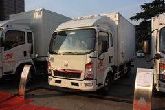 中国重汽 HOWO T5G 95马力 4X2 冷藏车(中集牌)(ZZ1047C3414B145)