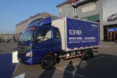 福田 欧马可1系 109马力 3.2米排半厢式轻卡(BJ5031V3BD3-FA) 卡车图片