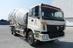 福田欧曼ETX 9系 375马力 6X4 混凝土搅拌车(BJ5253GJB-XL)