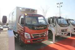 福田 奥铃CTX 120马力 4X2 冷藏车(BJ5071XLC-S)