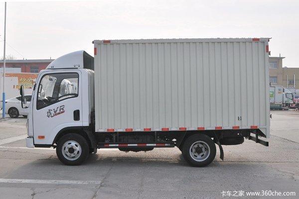 优惠0.5万解放轻卡3.7米厢货车促销中
