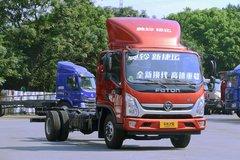 福田 奥铃新捷运 170马力 5.25米排半厢式轻卡(国六)(BJ5118XXYGJFD-AC1) 卡车图片