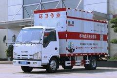 庆铃 五十铃100P 115马力 4X2 污泥处理车(顺肇牌)(SZP5040TCWQL5)