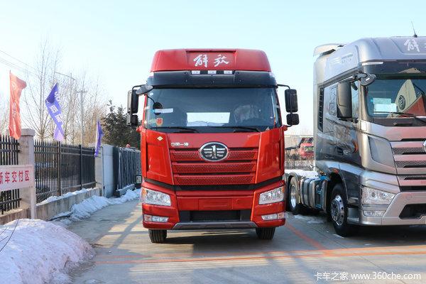 降价促销临汾解放J6P牵引车仅售43.2万
