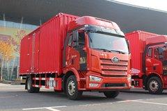 一汽解放 J6L中卡 质惠版 220马力 4X2 6.8米厢式载货车(CA5180XXYP62K1L4E5) 卡车图片