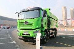 一汽解放 新J6P重卡 440马力 6X4 5.6米LNG渣土自卸车(国六)(CA3250P66M25L1T1E6)