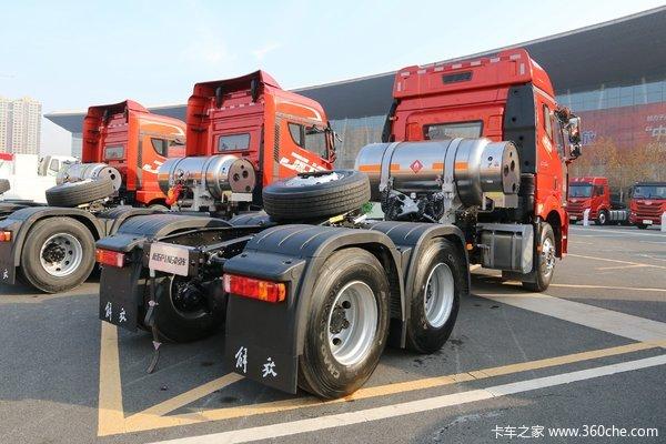 降价促销大同时代翔博解放J6P牵引车仅售43.50万