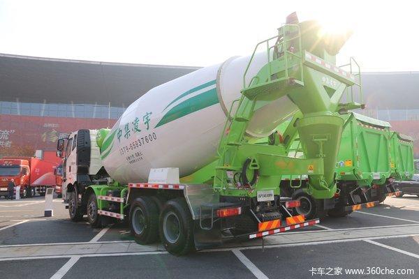 优惠0.5万解放J6L混凝土搅拌车促销中