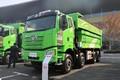 一汽解放 J6P重卡 375马力 8X4 7.6米自卸车(CA3310P66K2L4T4AE5)图片