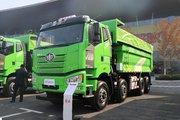 一汽解放 J6P重卡 375马力 8X4 7.6米自卸车(CA3310P66K2L4T4AE5)