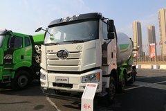 一汽解放 新J6P 440马力 8X4 LNG混凝土搅拌车(凌宇牌)(国六)(CA5310GJBP66M25L1T4E6)