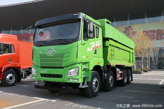 青岛解放 JH6重卡 460马力 8X4 8米自卸车(CA5310ZLJP27K15L5T4E5A80)