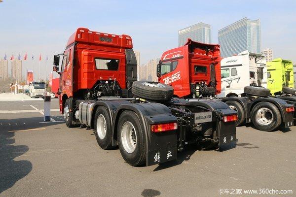 降价促销中卫解放J6P牵引车仅售35万