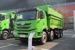 青岛解放 悍V重卡 340马力 8X4 6.2米自卸车(CA3311P1K2L2T4E5A80)图片