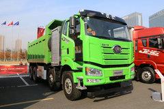 一汽解放 J6P 8X4 5.6米排半纯电动自卸(CA3310P66N142L4T4BEV)422.87kWh