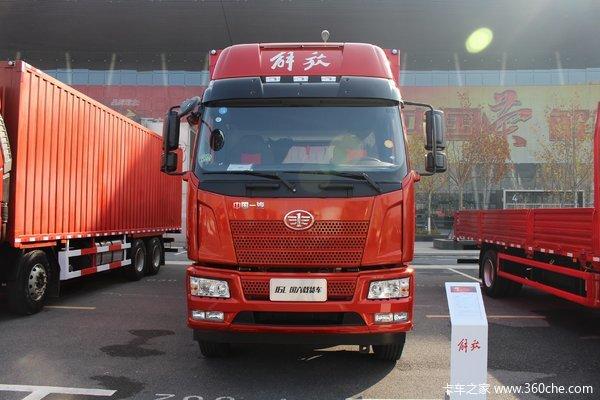 降价促销合肥解放J6L载货车仅售20.50万