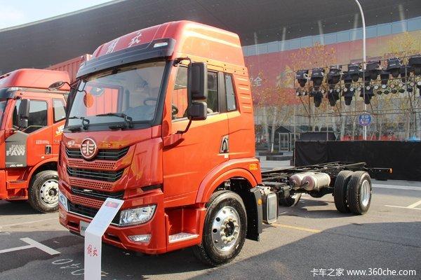 青岛解放 龙VH 2.0版 240马力 4X2 6.65米仓栅式载货车(CA5189CCYPK2L2E5A80)