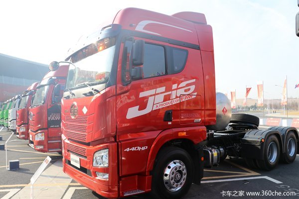 优惠1万广州威福解放JH6牵引车促销中