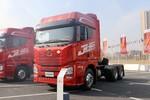 青岛解放 JH6重卡 460马力 6X4 双燃料牵引车(国六)(CA4250P25F1T1E6A80)图片