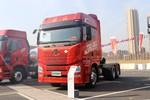 青岛解放 JH6重卡 领航版 440马力 6X4 LNG牵引车(435后桥)(国六)(CA4250P25K2T1NE6A80)图片