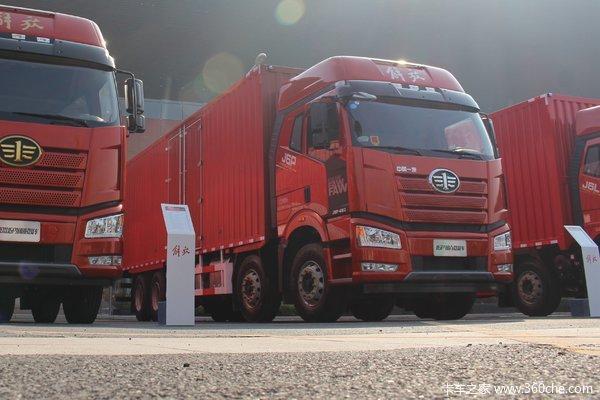 降价促销解放J6P载货车仅售33.60万