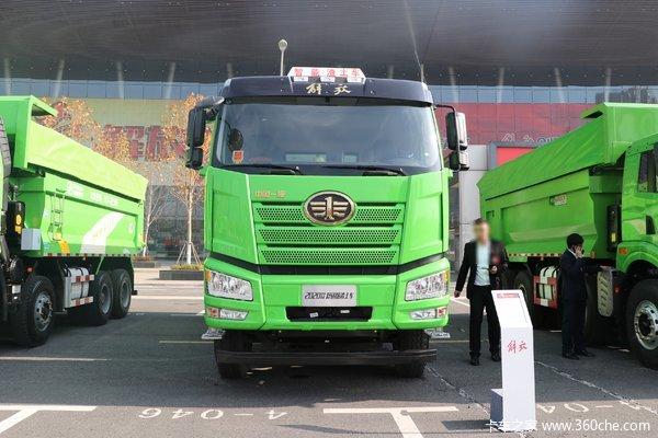 仅售49.90万百色解放J6P自卸车优惠促销