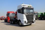 江铃重汽 威龙HV5重卡 460马力 6X4 LNG危险品牵引车(国六)