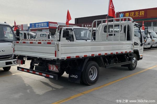 优惠0.4万上海海航康铃J5载货车促销中
