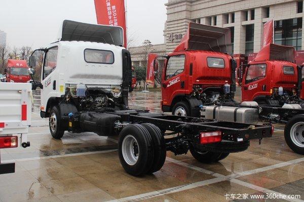 优惠0.7万一汽解放虎VN载货车促销中