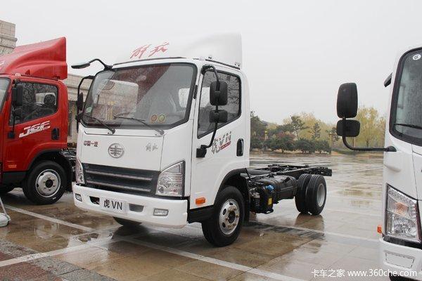 解放 虎VN 110马力 4.21米单排栏板轻卡(CA1040P40K50L1E5A84)