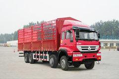 中国重汽 新黄河重卡 240马力 8X4 仓栅载货车(ZZ5314CCYK4766C1) 卡车图片