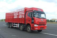 解放 J6P重卡 复合型 375马力 8X4 仓栅载货车(CA5310CLXYP66K24L7T4A1E) 卡车图片