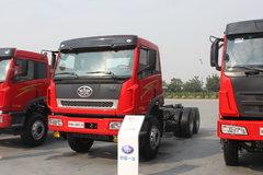青岛解放 新大威重卡 290马力 6X4 5.4米自卸车(CA3256P2K2T1EA81) 卡车图片