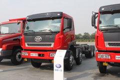 青岛解放 新大威重卡 336马力 8X4 7米自卸车(CA3300P2K2L2T4EA80) 卡车图片