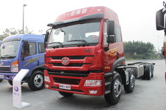 青岛解放 新悍威(J5M)重卡 260马力 8X4 9.5米栏板载货车(CA5311XXYP1K2L7T4EA80-1)
