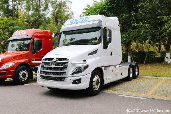 东风柳汽 乘龙T7重卡 600马力 6X4牵引车