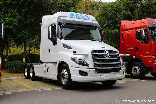 东风柳汽 乘龙T7重卡 560马力 6X4长头牵引车(国六)(L4级自动驾驶)