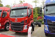 东风柳汽 乘龙H5中卡 200马力 4X2 排半厢式载货车底盘(LZ5180XXYM3AB)