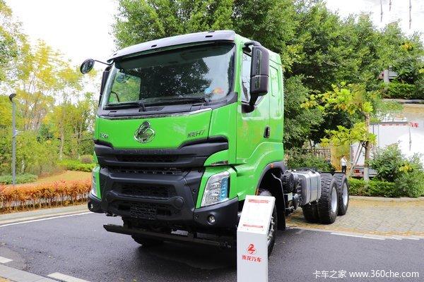 东风柳汽 乘龙H7 400马力 6X4 5.8米自卸车(国六)