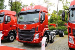 东风柳汽 乘龙H5中卡 260马力 6X2 9.7米栏板载货车(LZ1251H5CB1) 卡车图片