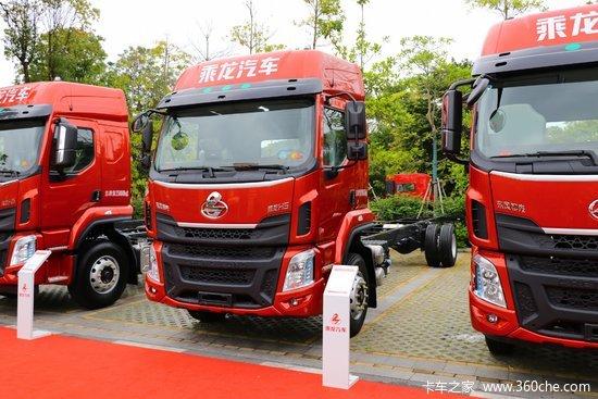 东风柳汽 乘龙H5中卡 240马力 4X2 6.8米厢式载货车(LZ5182XXYM3AB)
