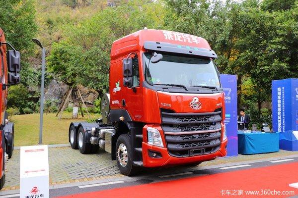 东风柳汽 乘龙H7重卡 460马力 6X4 LNG牵引车(国六)