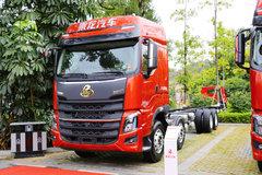 东风柳汽 乘龙H7重卡 2019款 460马力 8X4 9.6米载货车底盘(LZ1312H7FB) 卡车图片