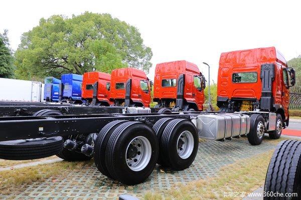 降价促销乘龙H7载货车仅售30.00万